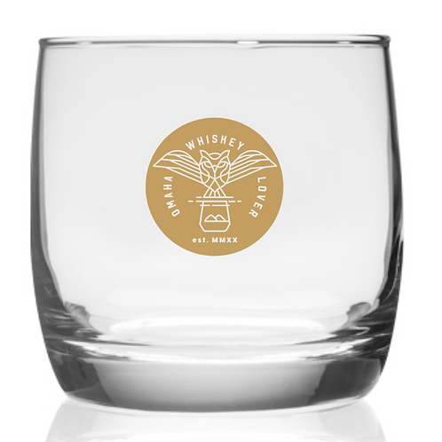 'CARPE DIEM'    10 oz. O.W.L. Nordic Whiskey Glass