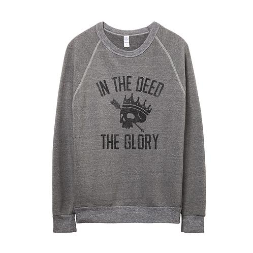 'THE DEED' | ECO FLEECE 'CHAMP' SWEATHSHIRT