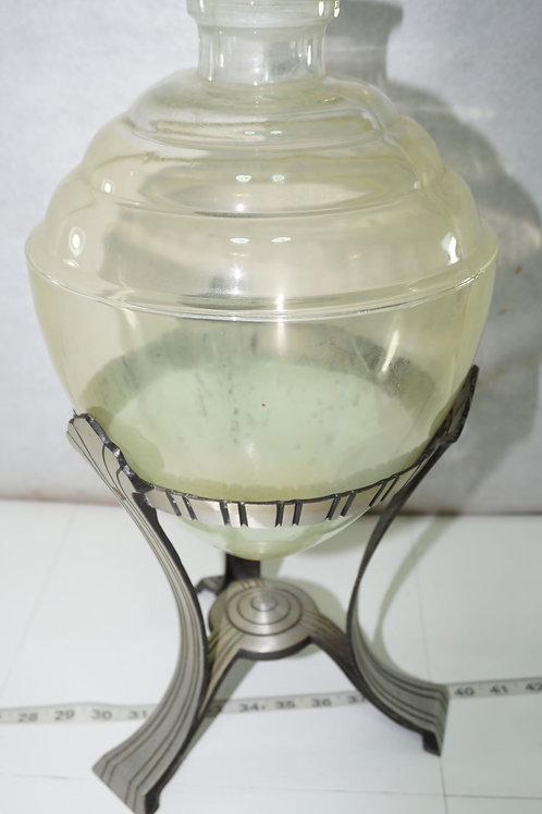 1930s Art Deco Apothecary Jar - No Lid