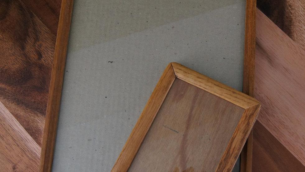 Pair of Vintage Wood Frames