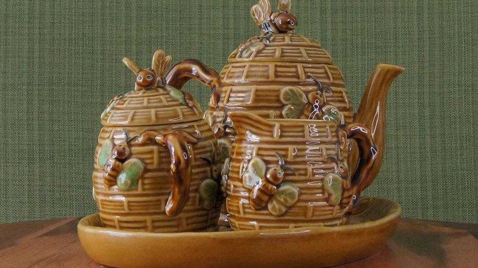 Beehive Tea Set, 4 piece set