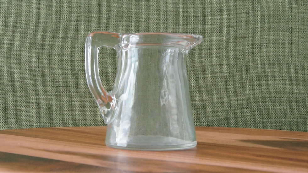 Glass Cream Pitcher