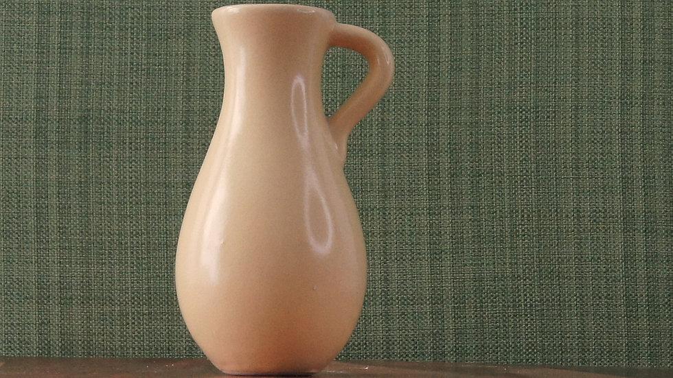Vintage Yellow Ceramic Bud Vase