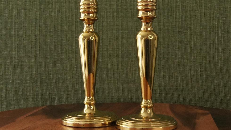 Baldwin Brass Candlesticks, set of 2