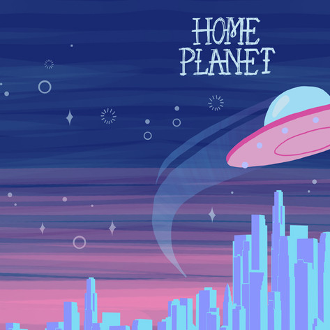Home Planet Book Cover