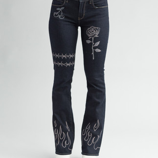 Baby Flare Jeans