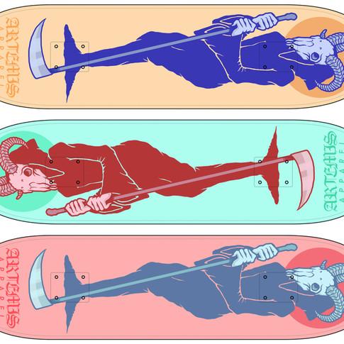 Artemis Apparel - Board Concept II