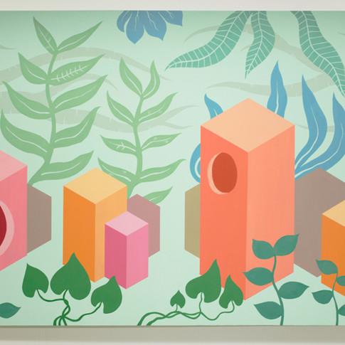 Design Arts Thesis Part I: Rainforest Painting