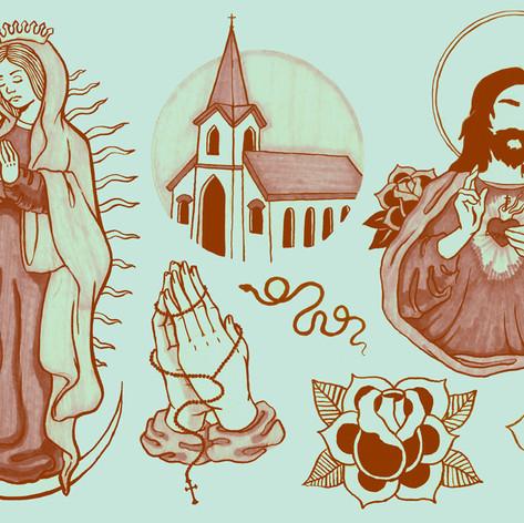 Catholic Flash Sheet