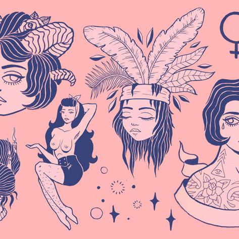 Feminine Flash Sheet