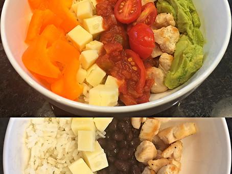 Black Bean & Chicken Rice Bowl