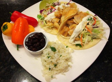 Lime Fish Tacos