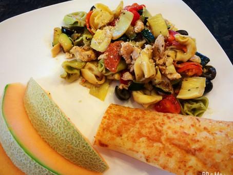 Garden Tortellini Pasta Salad