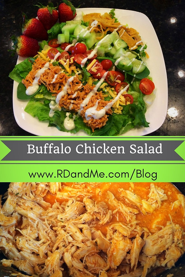Buffalo Chicken Salad | RD & Me Nutrition Coaching United States