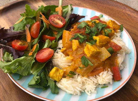 Guest Post: Mango Chicken Curry
