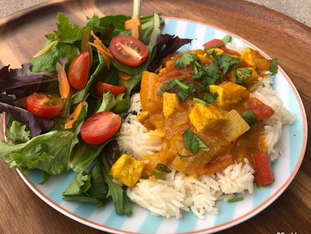 Guest Post: Mango Chicken Curry