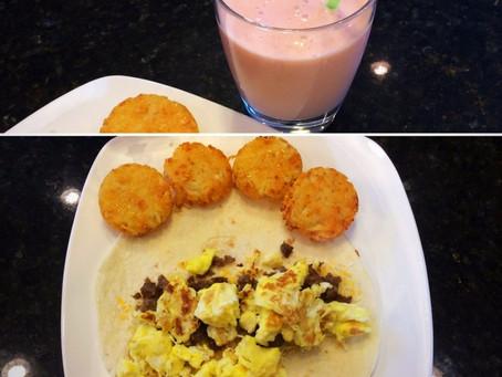Breakfast Burritos & Smoothies
