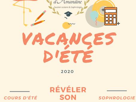 Vacances d'été 2020: pourquoi prendre des cours et faire de la sophrologie ?