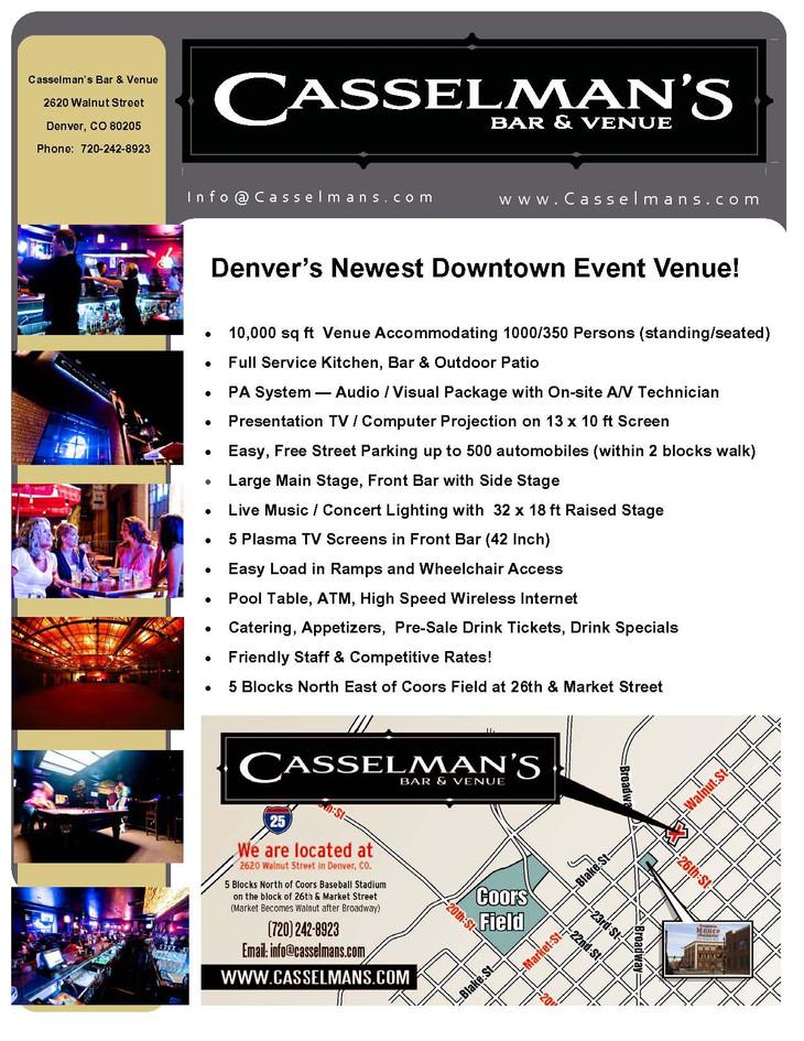 Venue at Casselman's Brochure