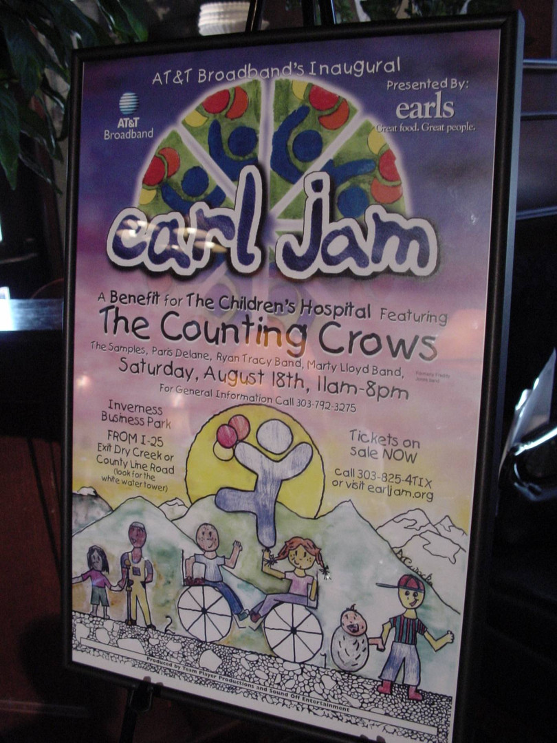 Earl Jam Charity