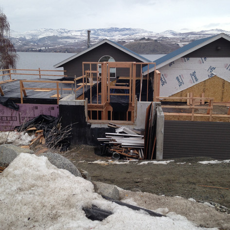 Lake Chelan, Southshore Waterfront Remod