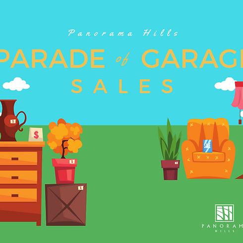 Panorama Hills Parade of Garage Sales