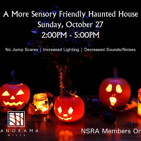 A More Sensory Friendly Haunted House
