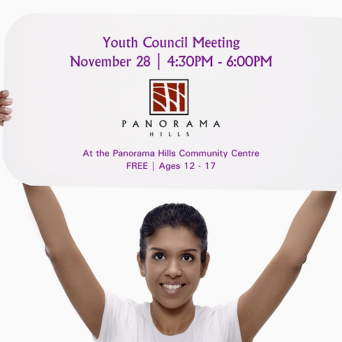 RESCHEDULED - Youth Council Meeting