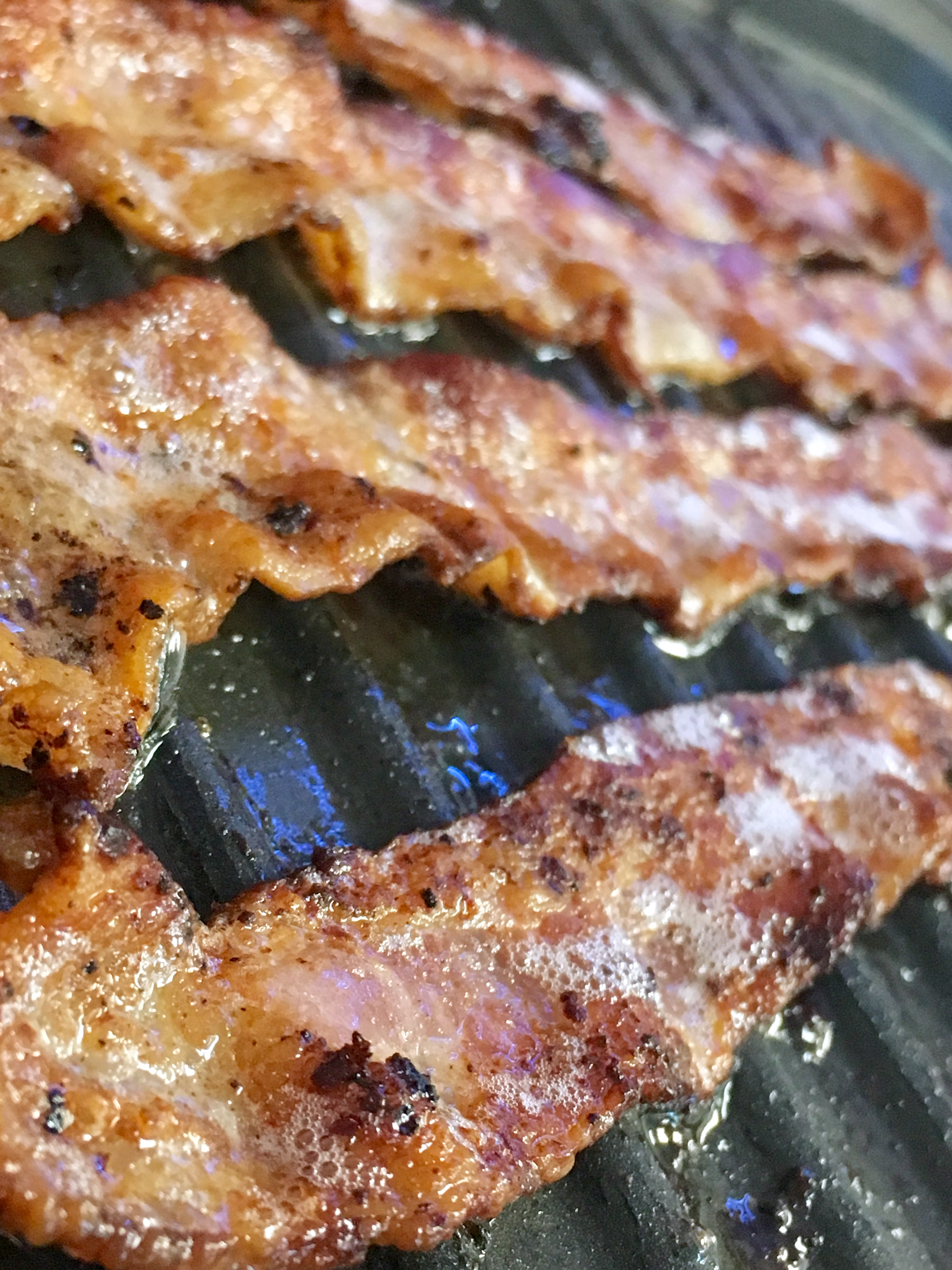 Freshly Fried Bacon