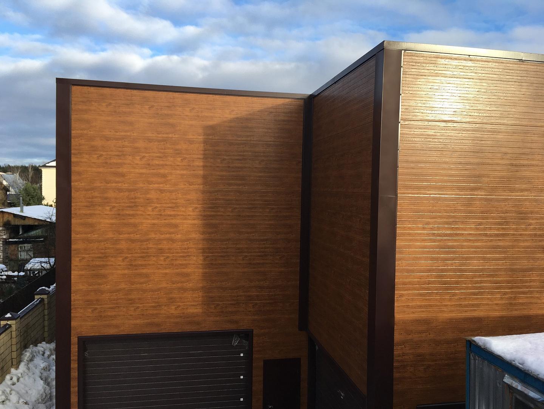 פנלים עץ לגדר וקיר