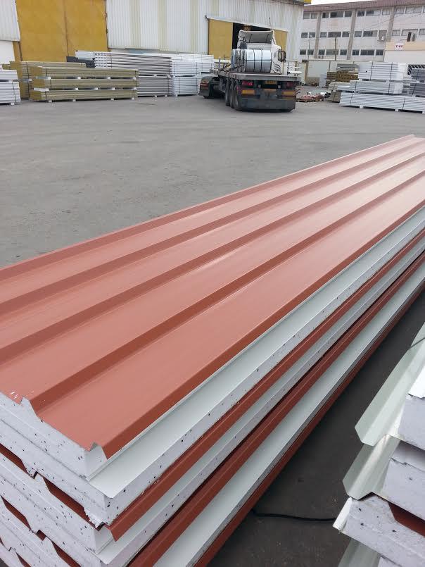 פנלים אדום גג