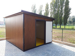 מחסן פנל עץ.