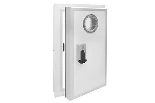 דלת כנף מוסתרת לחדר קירור וחדר הקפאה