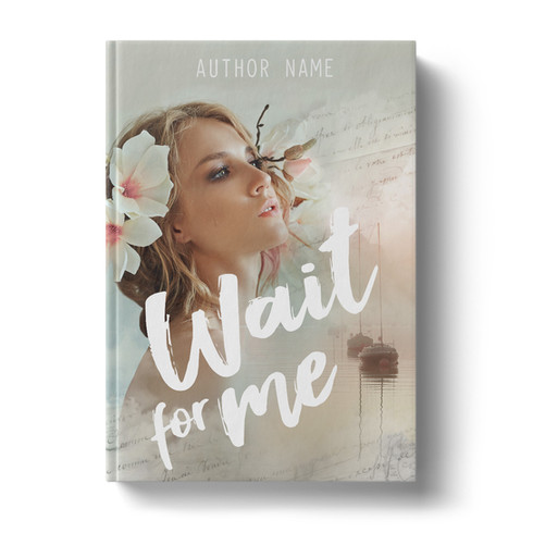 Premade Book Cover Design | Wait For Me ID# 4