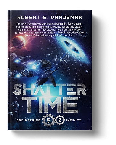 Shatter Time by Robert E Vardeman