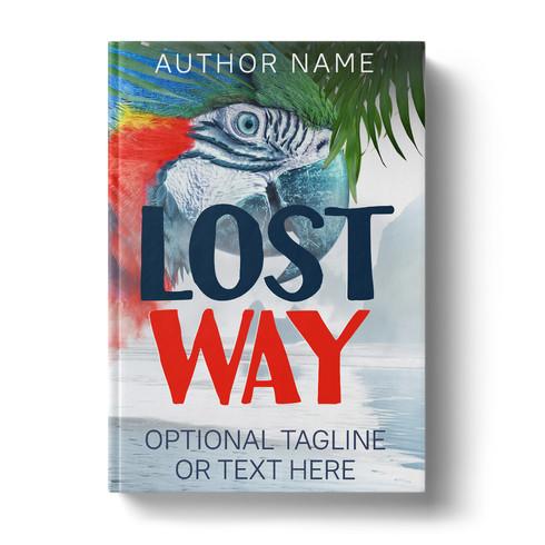 Premade Book Cover Design | LOST WAY ID# 1