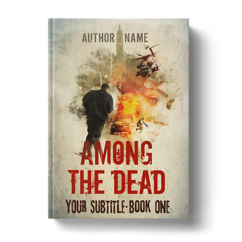 Premade Book Cover Design | AMONG THE DEAD  ID# 2