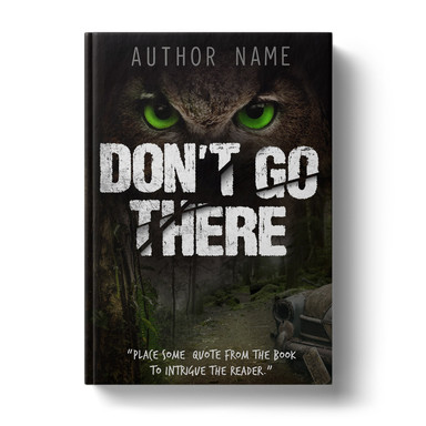 Premade Book Cover Design | DON'T GO THERE ID# 5