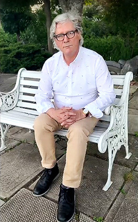 Author Barry L. Russell in Kingston, Ontario, Canada