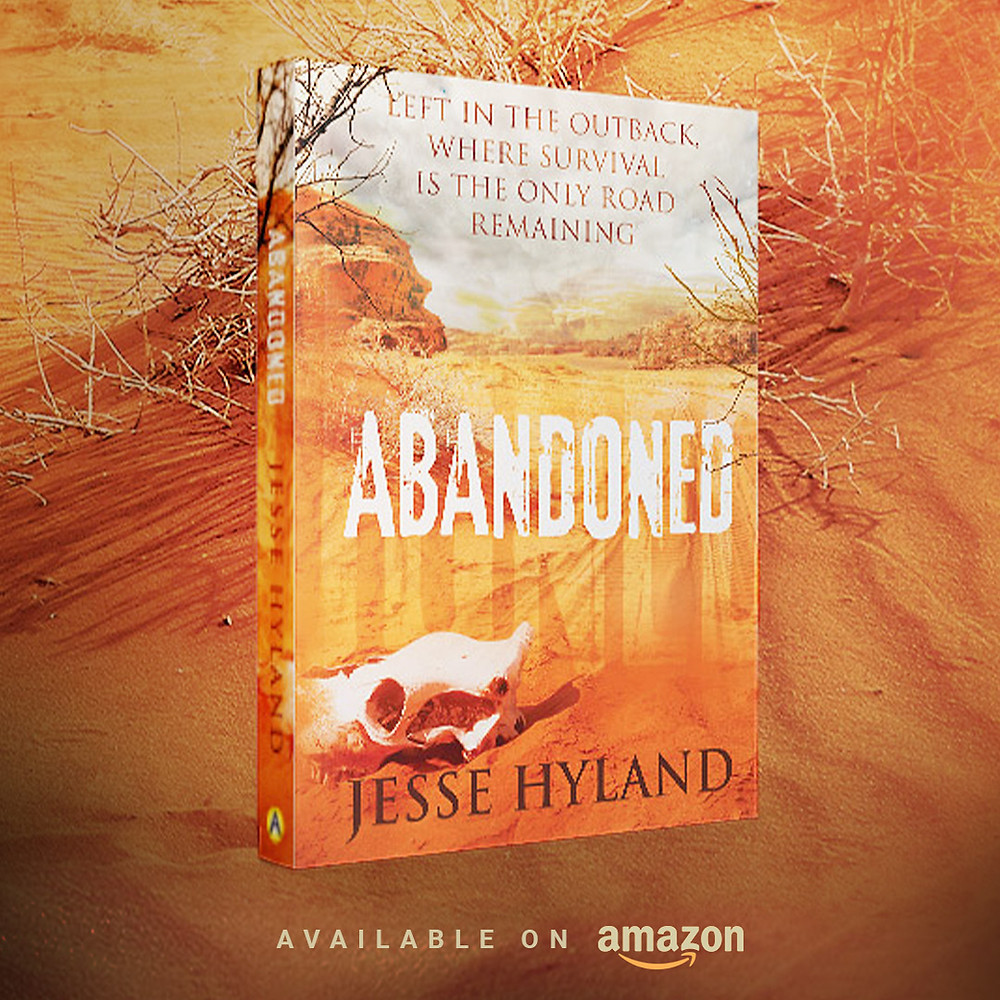 Book Cover Design - Abandoned by Jesse Hyland