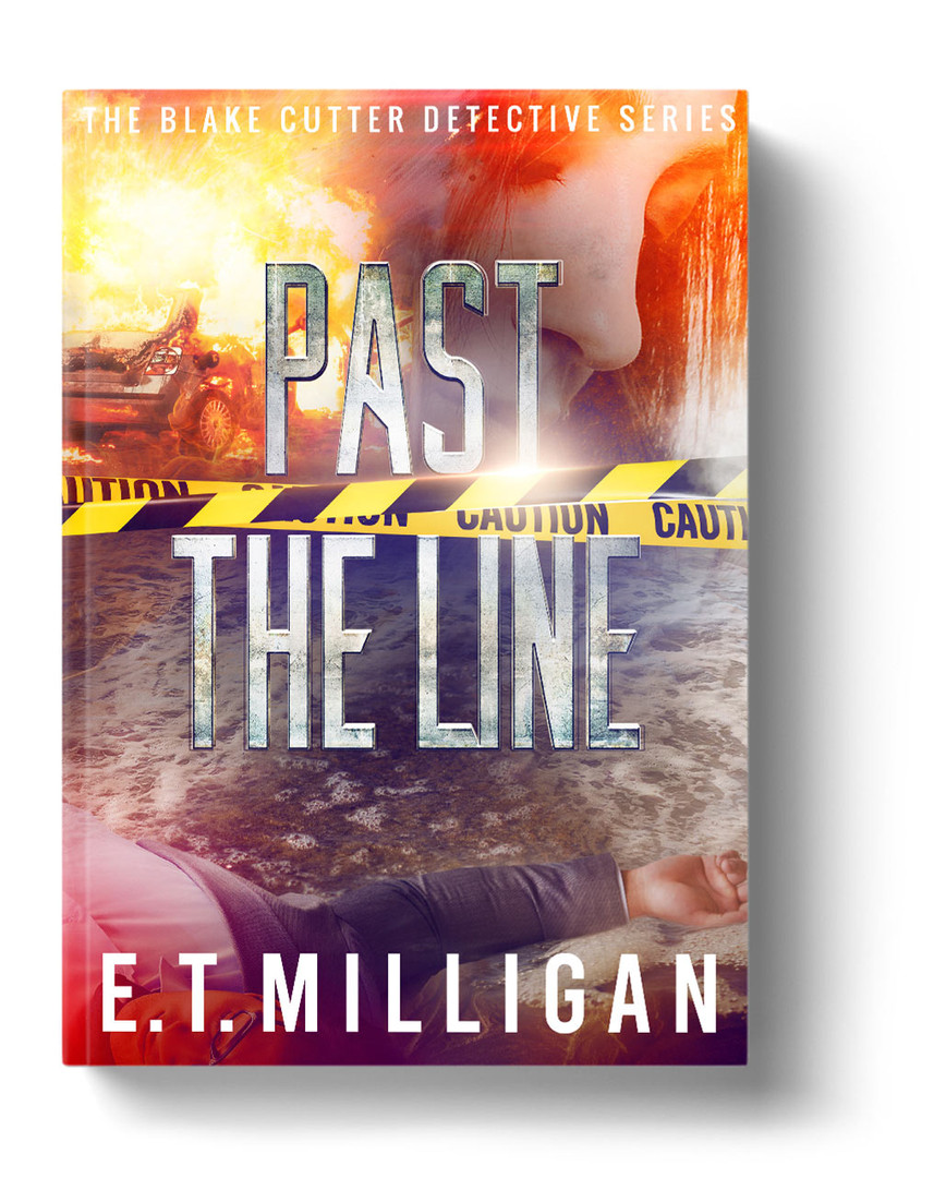 Past The Line by E. T. Milligan