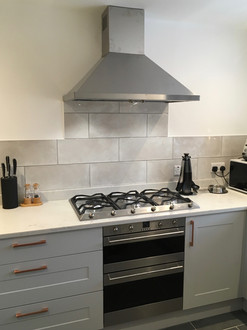 Howdens kitchen with granite worktops