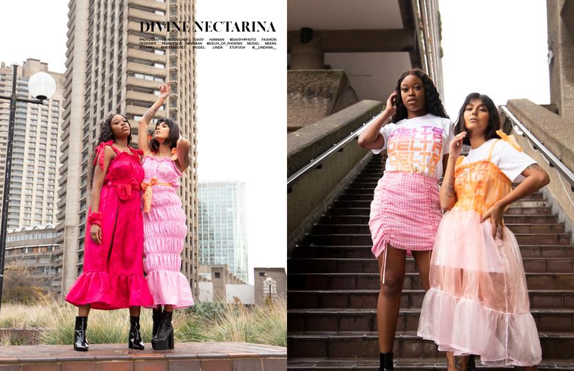 Divine Nectarina: Intra Magazine