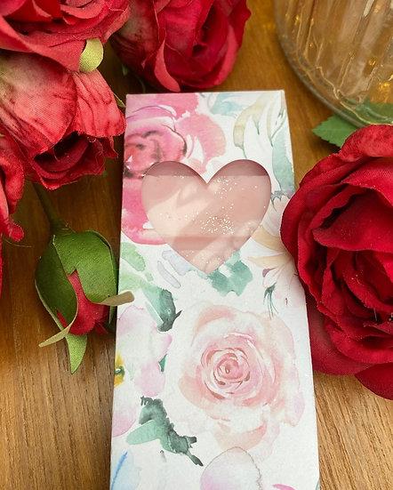 Wax Melt Snap Bar in a Floral Gift Box