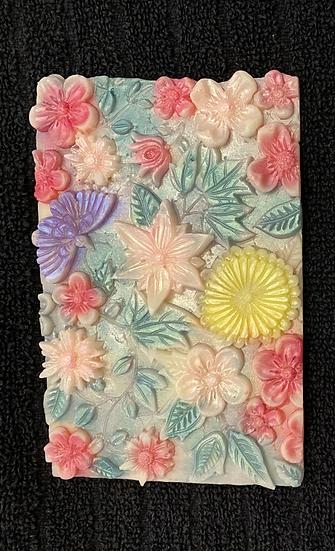 2 x Wax Melt Flower Slabs