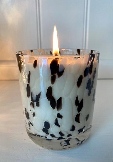 Large Dalmatian Candle