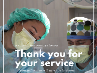 Thank you to all the NHS staff