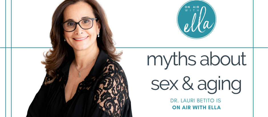 249: Myths About Sex & Aging; The Evolution of Married Sex - Dr. Laurie Betito