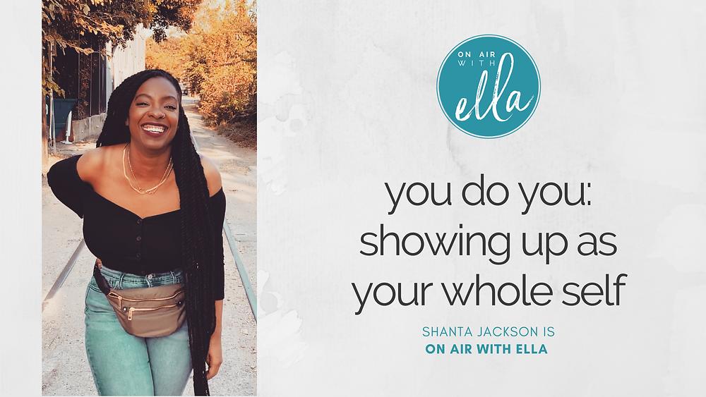 Shanta J is ON AIR WITH ELLA