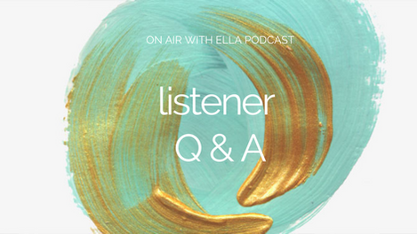 224: Listener Q&A - Meal Planning; Therapies for Breaking Thought Patterns; Adjusting to a New Body